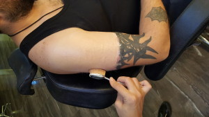 porselen makyaj ile dövme kapatma